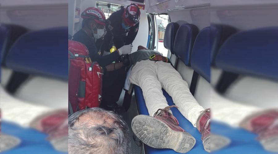 Conductor huye tras atropellar a hombre en la Central de Abasto | El Imparcial de Oaxaca