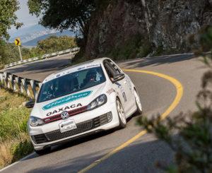 Piloto oaxaqueño gana rally de automovilismo en Guanajuato