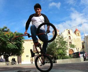 Participarán oaxaqueños en competencia flatland de ciclismo BMX