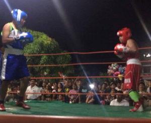 """Compiten seleccionados estatales en """"dual-meet"""" de boxeo"""