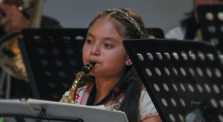 Banda de Música Infantil y Juvenil Viento Nuevo se presenta en Museo del Ferrocarril