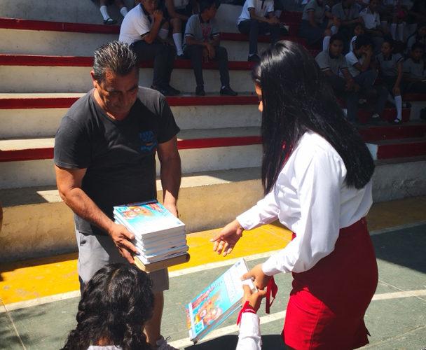COBAO 24 celebra el Kilómetro del Libro