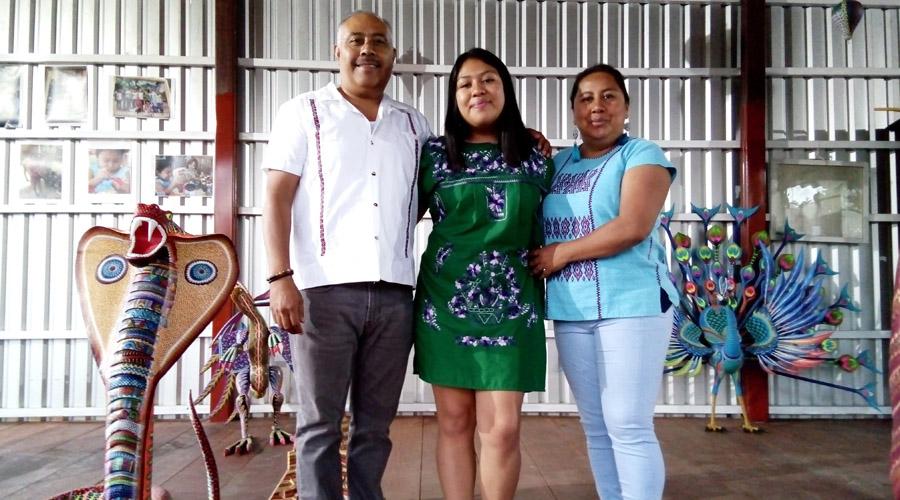 Celeste Santiago: vida entre  maderas y colores