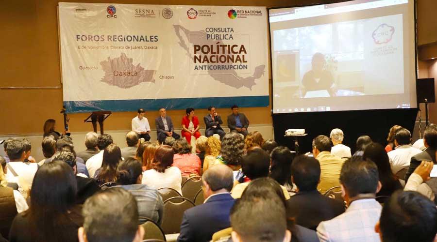 Ciudadanía señala a Oaxaca como uno de los estados más corruptos. Noticias en tiempo real