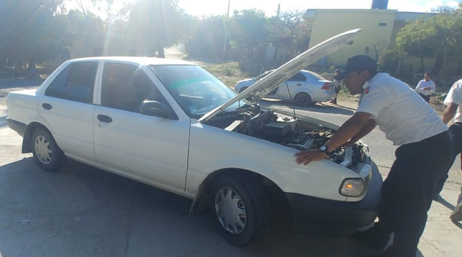 Aseguran vehículo con reporte de robo en la Texpolan | El Imparcial de Oaxaca