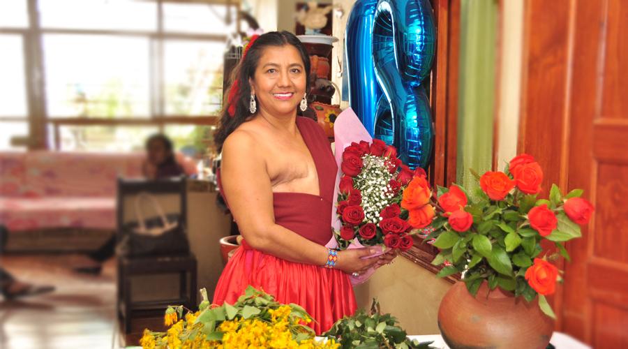 Maribel se desnuda  para inspirar a víctimas del cáncer de mama | El Imparcial de Oaxaca