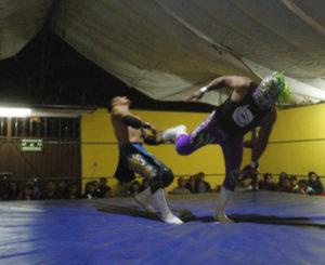Anuncian actividades de lucha libre a Santa Lucía del Camino, Oaxaca