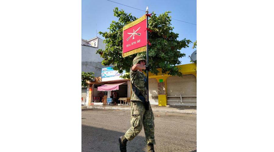 Migra batallón militar de Ixtepec a Huatulco