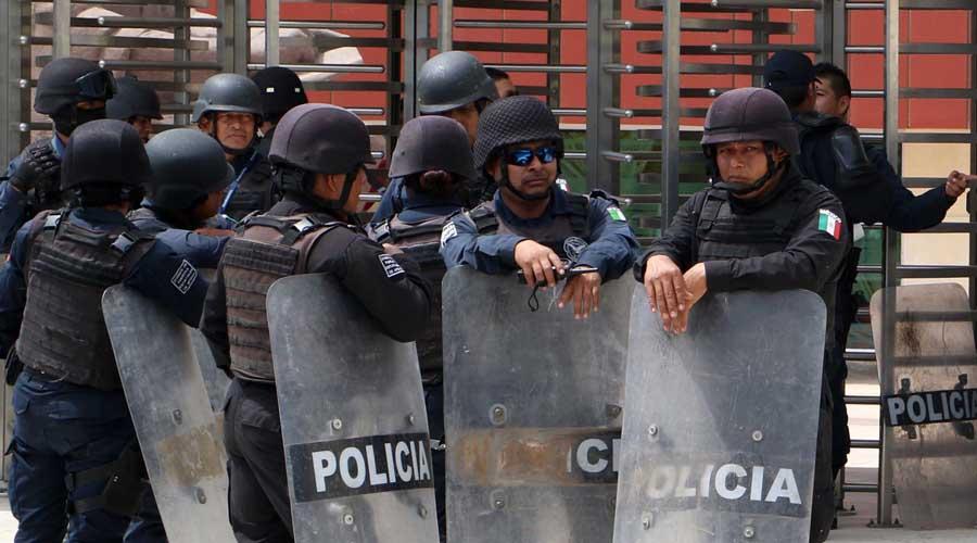 Revela encuesta precaria situación policíaca en Oaxaca. Noticias en tiempo real