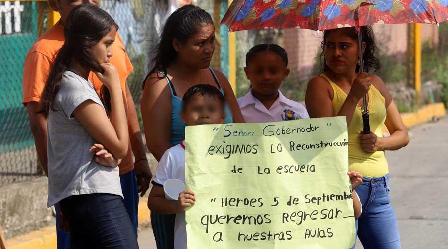 Señalan desfalco y nulos avances en reconstrucción de escuelas en Oaxaca | El Imparcial de Oaxaca