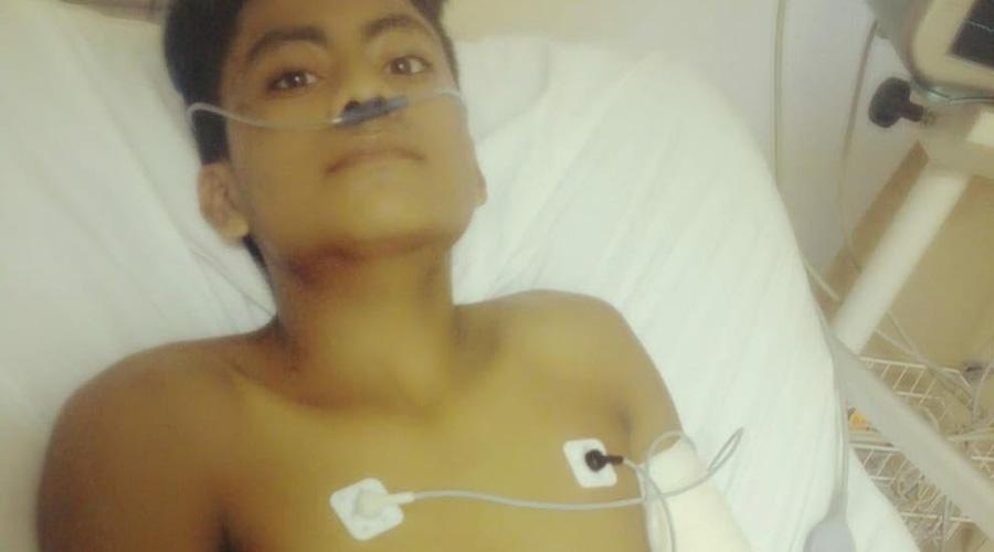 Piden ayuda para joven de la Costa para salvarle el brazo | El Imparcial de Oaxaca