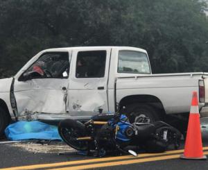 Muere motociclista tras accidente en la carretera Cuacnopalan-Oaxaca