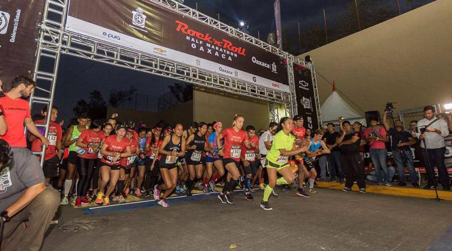 Confirman segunda edición de la Media Maratón Rock'n Roll Oaxaca | El Imparcial de Oaxaca