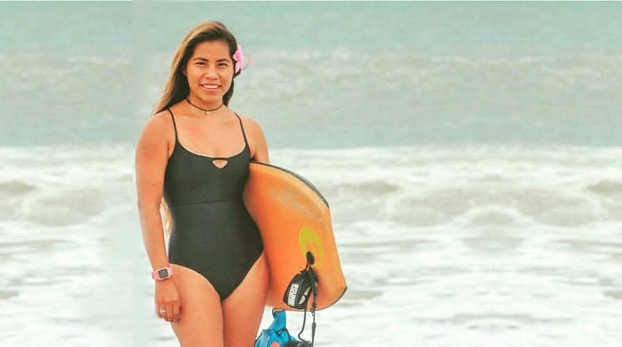 Surfista oaxaqueña competirá en Campeonato Nacional de Bodyboard | El Imparcial de Oaxaca