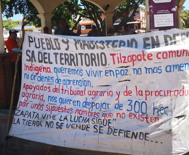 Sección 22 amenaza con bloqueo por caso Tilzapote