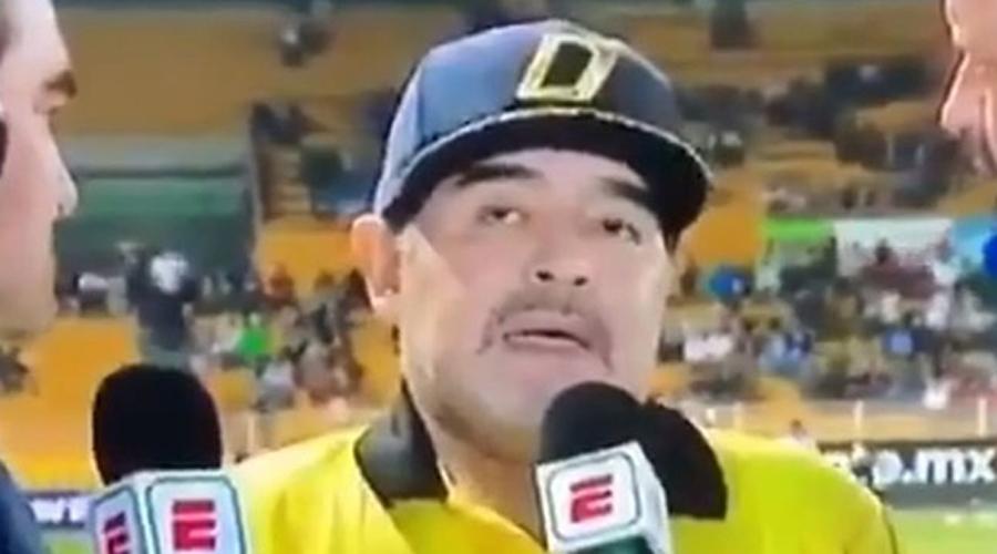 Maradona causa preocupación por sus evidentes problemas | El Imparcial de Oaxaca