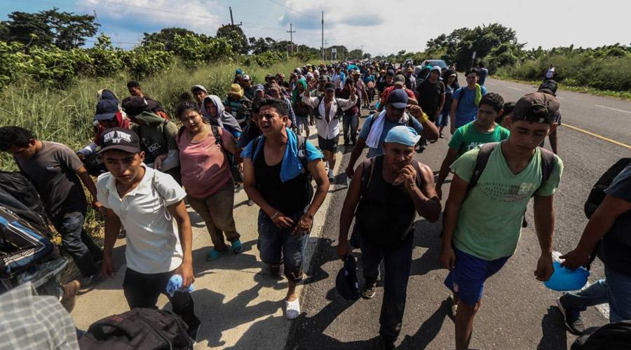 Migrante hondureño pierde a su familia durante su travesía | El Imparcial de Oaxaca