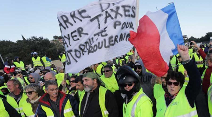 Protestas en Francia contra alza a combustibles dejan un muerto. Noticias en tiempo real