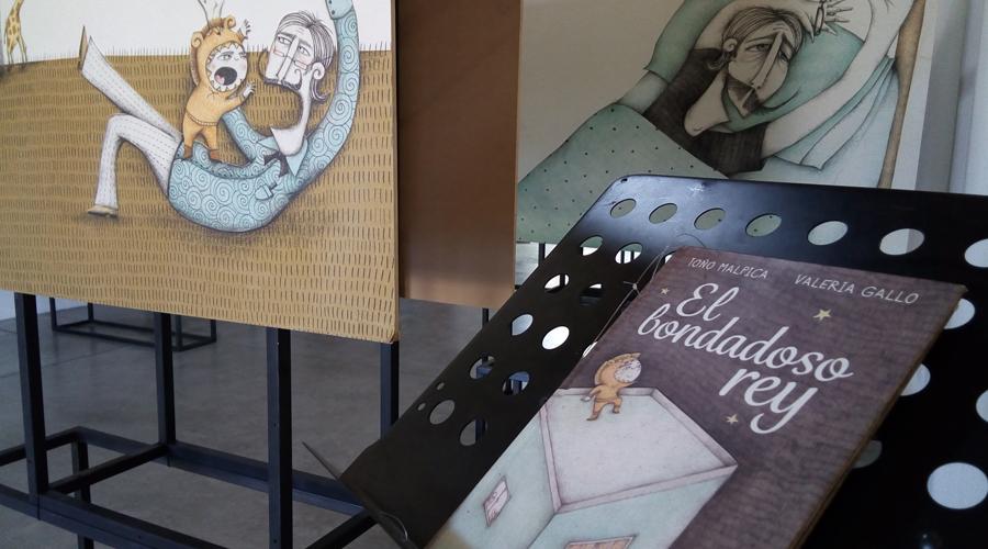 Exponen ilustraciones de El bondadoso rey en el Museo Infantil de Oaxaca | El Imparcial de Oaxaca