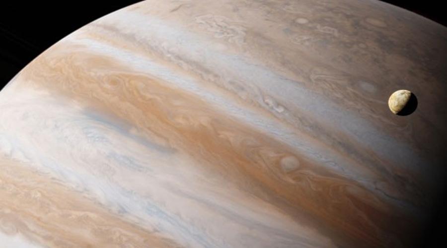 Nubes en forma de ratón en Júpiter. Noticias en tiempo real