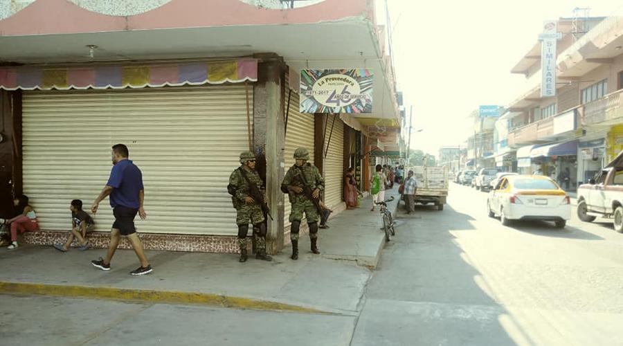 Darán seguridad militares y corporaciones policiacas en el Istmo | El Imparcial de Oaxaca
