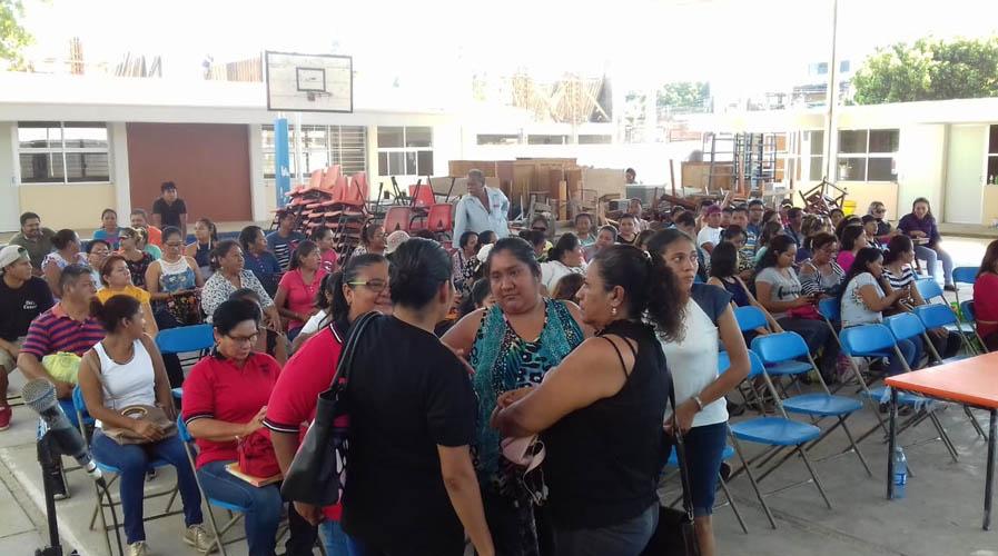 17 de diciembre concluirán reconstrucción de primaria Pedro Sainz de Baranda | El Imparcial de Oaxaca