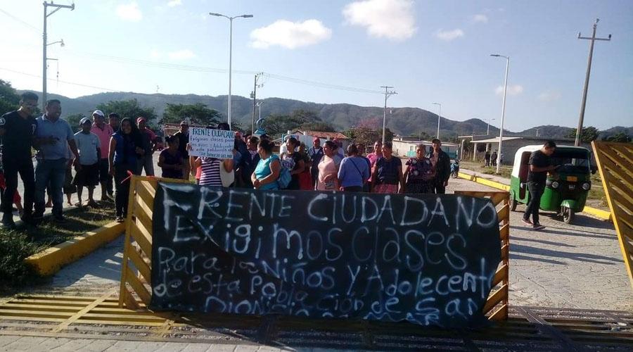 Exigen clases para San Dionisio del Mar, Oaxaca | El Imparcial de Oaxaca