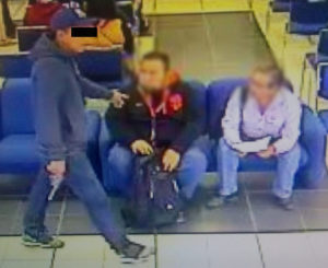 Identifican a presuntos asaltantes de sucursal bancaria en Santa Rosa