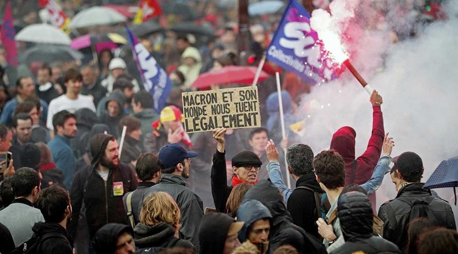 Francia vive protestas por encarecimiento; se suma al descontento sector educativo | El Imparcial de Oaxaca