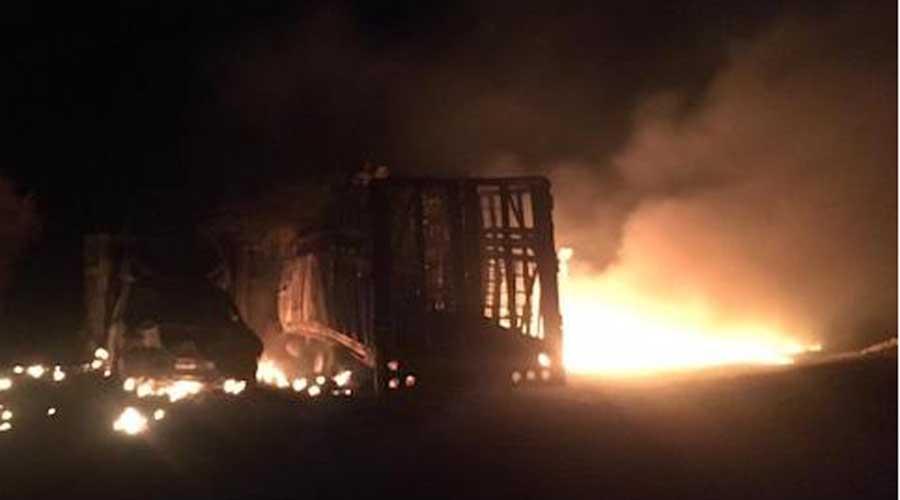 Se registra incendio por toma clandestina  en ductos de Pemex en Ixtaltepec | El Imparcial de Oaxaca