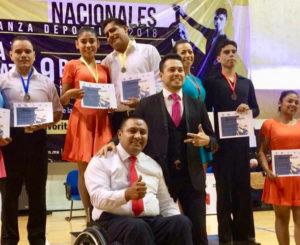 Brilla Oaxaca en Campeonato Nacional de Baile Deportivo 2018