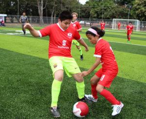 Inauguran cancha de futbol 7 en El Tequio