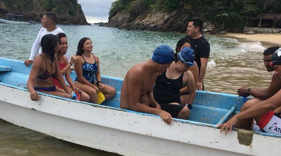 Realizan Reto Dragón 2018 de Aguas Abiertas en Puerto Ángel | El Imparcial de Oaxaca