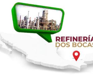 Anuncia AMLO licitación en marzo para refinería en Tabasco