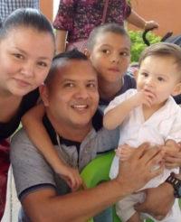Fernando es bautizado