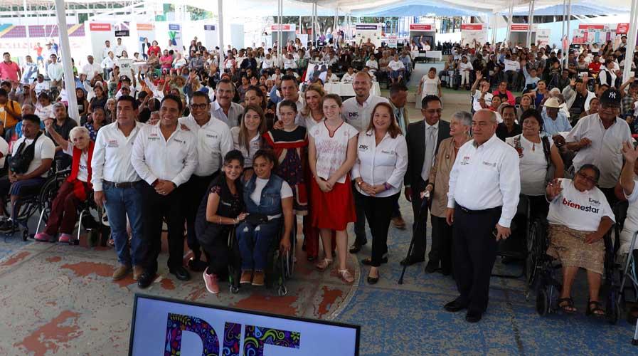 Apoya DIF a 98 mil personas con discapacidad en Oaxaca | El Imparcial de Oaxaca