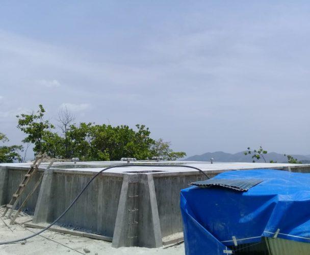 Posponen entrega  del sistema de agua en Chacalapa