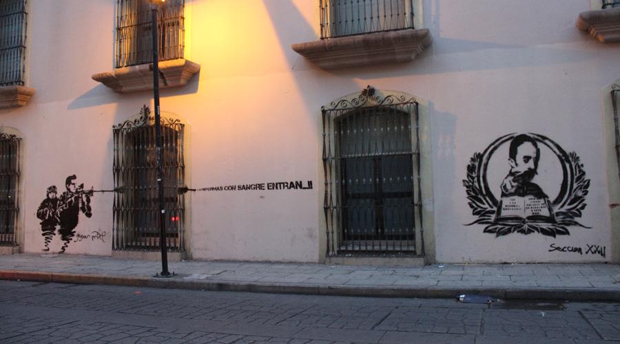 El grafiti en contexto patrimonial en la Casa de la Ciudad | El Imparcial de Oaxaca