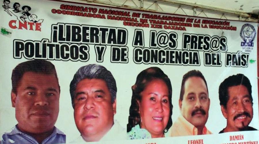 Agradecen presos políticos de CNTE  libertad a AMLO | El Imparcial de Oaxaca