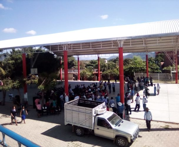 Surgen problemas durantela elección de Cozoaltepec