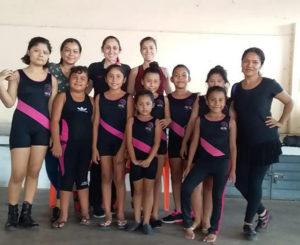 Gimnastas oaxaqueñas participan en Copa Christmas 2018