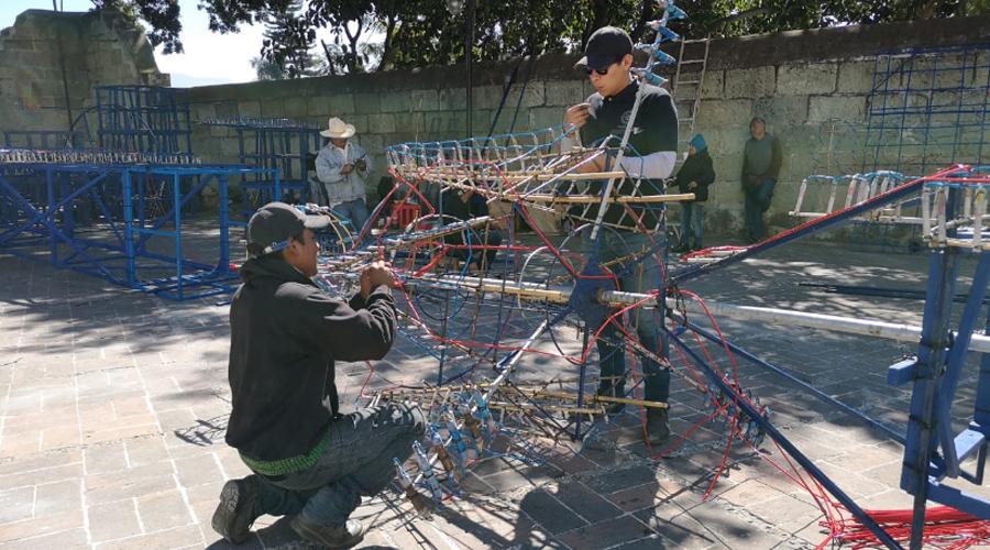 Elaboración y uso de la pirotecnia, trabajo 100 por ciento artesanal | El Imparcial de Oaxaca