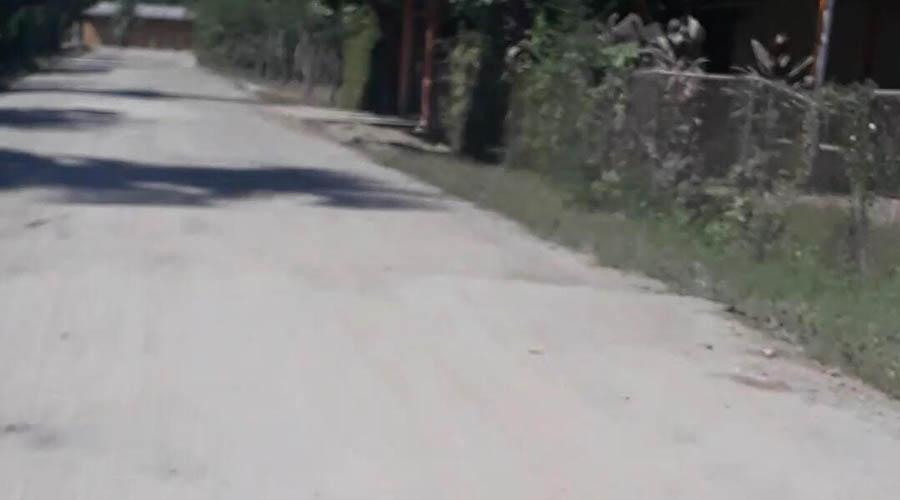 Olvidan obra carretera en Pinotepa Nacional