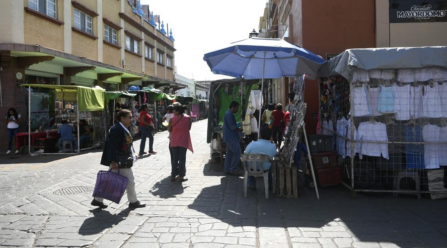 Se duplica el número de  vendedores ambulantes en Oaxaca