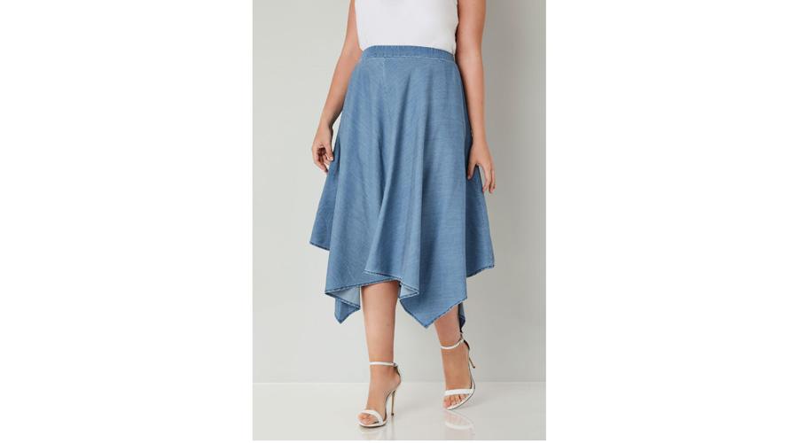 9868f52d0 Faldas midi, un básico de la moda para lucir a cualquier edad