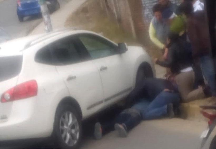 Taxista foráneo atropella a un motociclista en Montoya | El Imparcial de Oaxaca