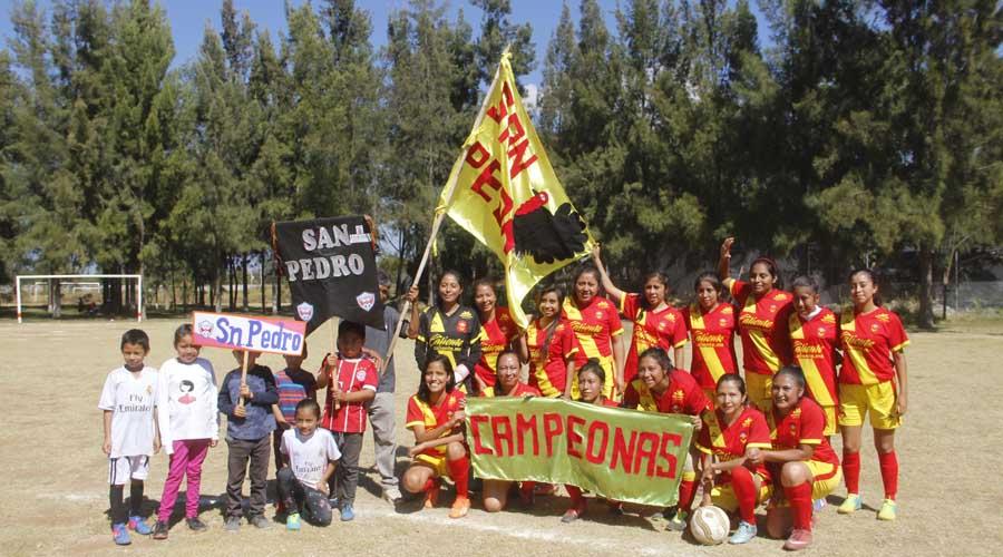 Gana San pedro Torneo Femenil de futbol en Zaachila | El Imparcial de Oaxaca