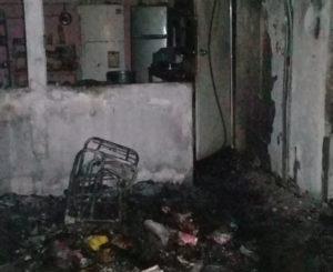 Se incendia hogar en  Ciudad Yagul, Tlacolula