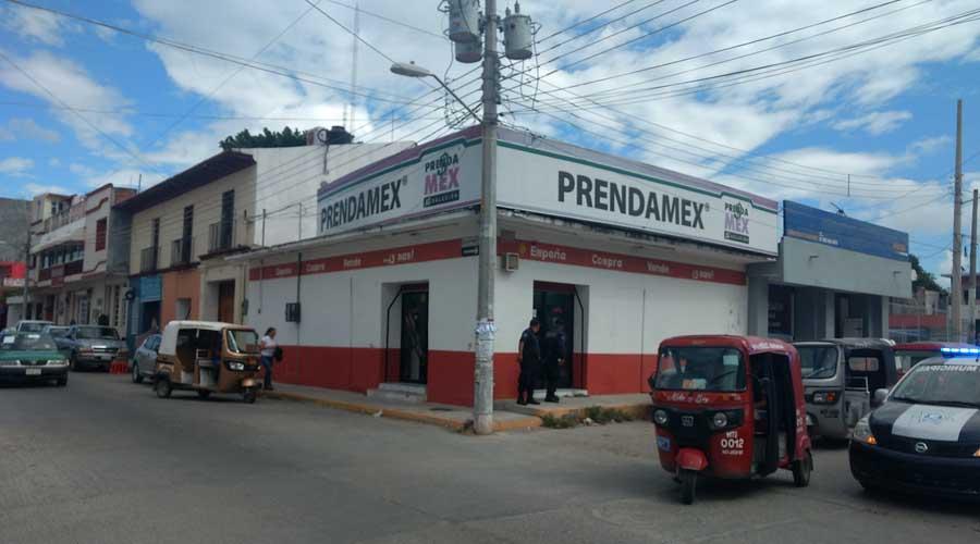 Intentan asaltar casa de empeño en Juchitán | El Imparcial de Oaxaca