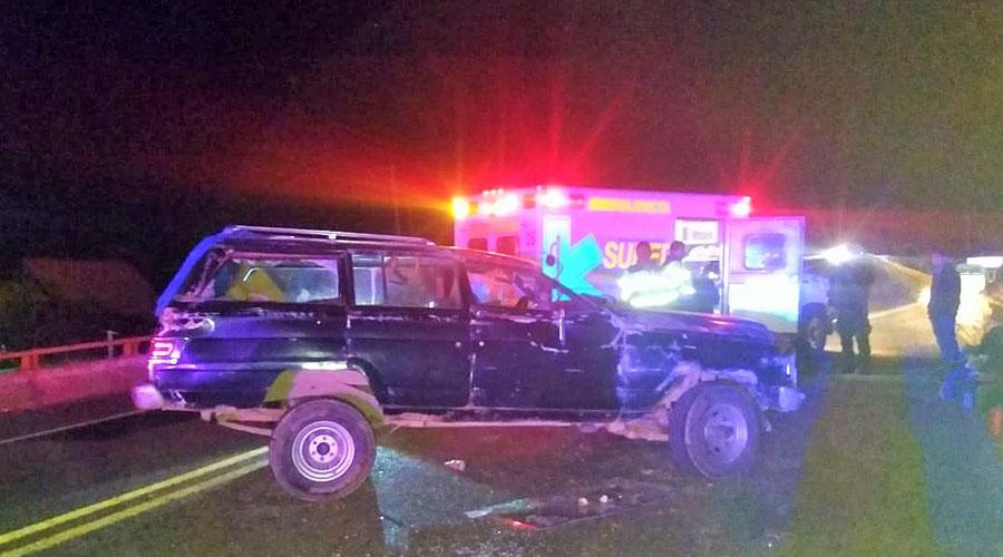 Se registra aparatoso choque en carretera de San Dionisio Ocotlán | El Imparcial de Oaxaca